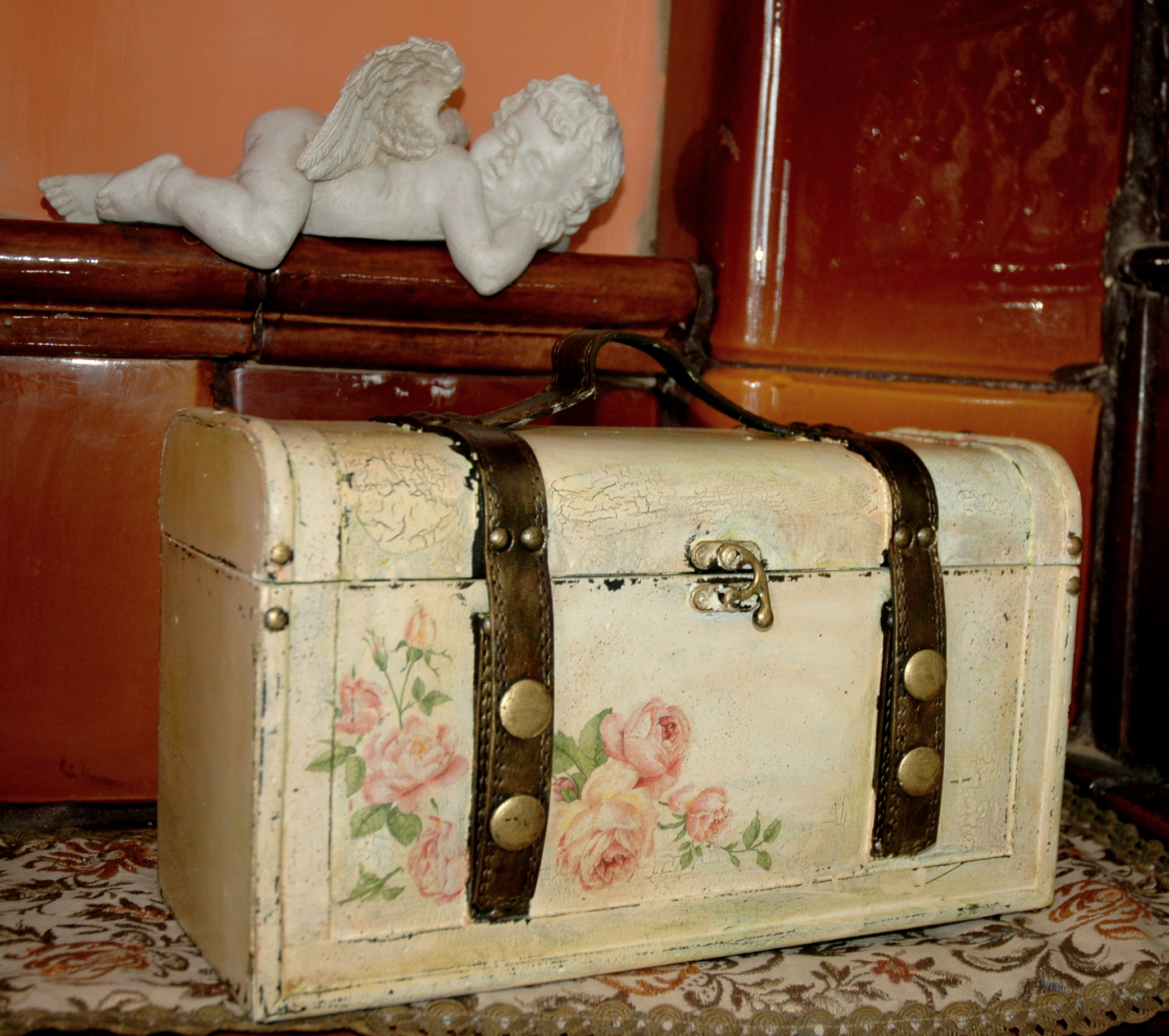 Picture of: Decorative Trunk For Trinkets